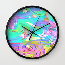 Mad House Wall Clock
