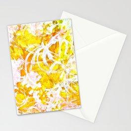 Golden Shine Stationery Cards