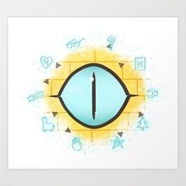 The Eye Of Fate // Bill Art Print