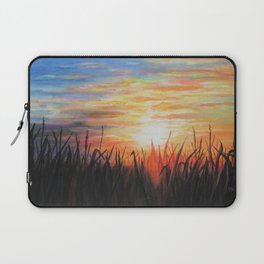 Sunset Red Laptop Sleeve