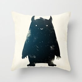 Mr. Cosmos (Color Version) Throw Pillow