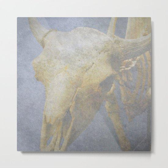"""Mystic Cow"" Metal Print"