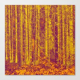 In the middle of the forest #decor #society6 Canvas Print