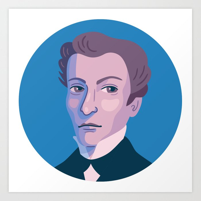 Queer Portrait - James Barry Art Print