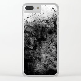 The Sherry / Charcoal + Water Clear iPhone Case