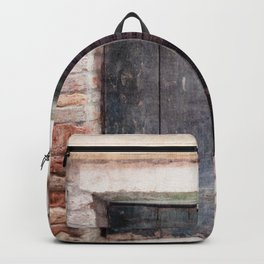 Venice Italy Shutters Backpack