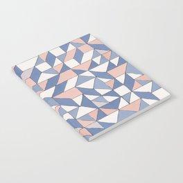 Shifting geometric pattern Notebook