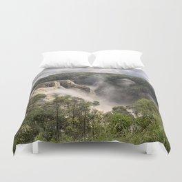 Barron Falls in Queensland Duvet Cover