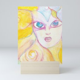 Autumn Colors Watercolor Painting Fine Art by Garden Of Delights Mini Art Print