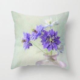 Love in a Mist Throw Pillow