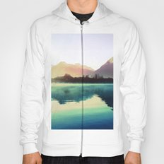 Mountains #watercolor Hoody