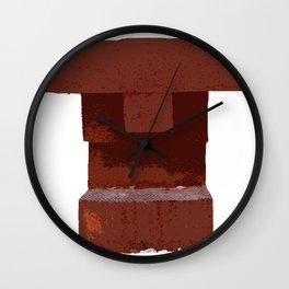Easter Metalhead  Wall Clock