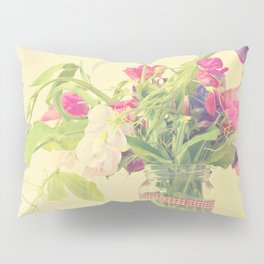 Sweet peas Pillow Sham