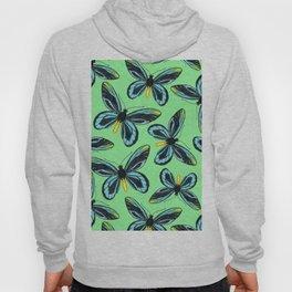 Queen Alexandra' s birdwing butterfly pattern Hoody