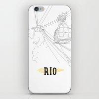 rio iPhone & iPod Skins featuring RIO by ThiagoKoi