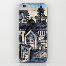 Monastery - Nuremberg Chronicle iPhone Skin