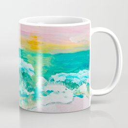Pink Sand Sunset Coffee Mug