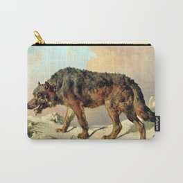 Sibirischer Wolf Carry-All Pouch