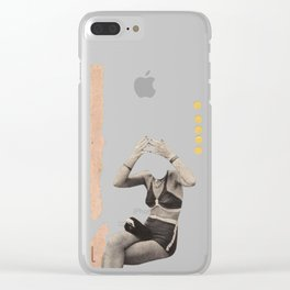Losing my Head Clear iPhone Case