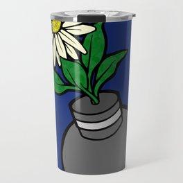 Flower-bomb Travel Mug