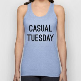 Casual Tuesday Unisex Tank Top