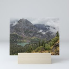 Grinnell Lake from the Trail No. 1 - Glacier NP Mini Art Print