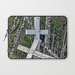 Crossed Crosses Laptop Sleeve