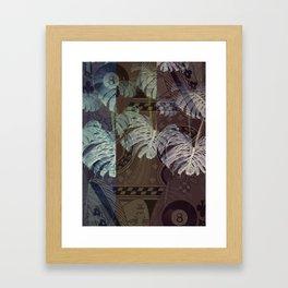 EIGHT LEAVES 8 Framed Art Print