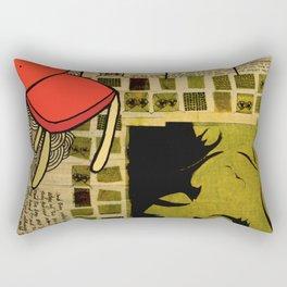 """""""everywhere"""" Rectangular Pillow"""
