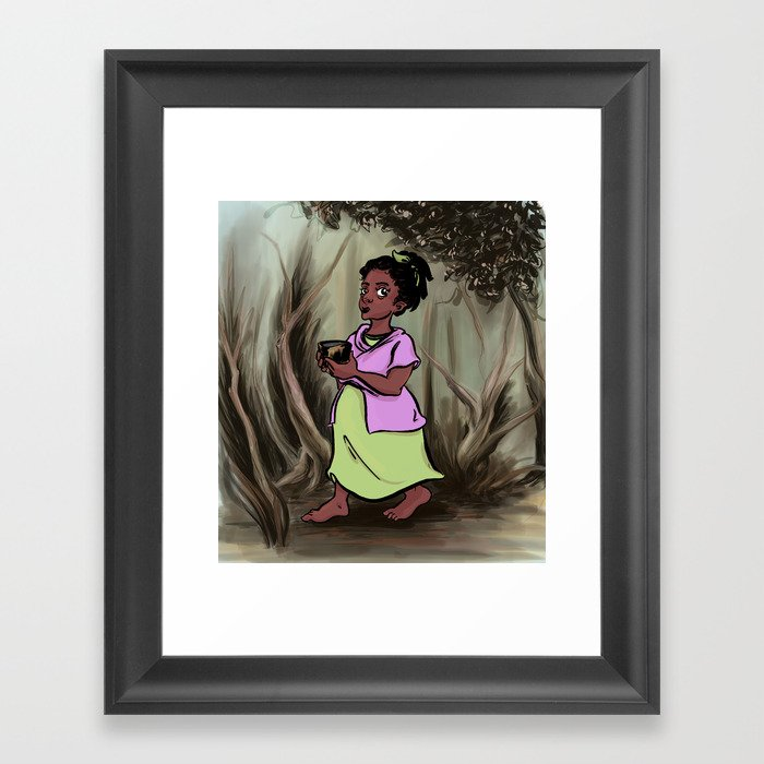 Ilse Framed Art Print