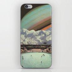 Saturn Spa iPhone Skin
