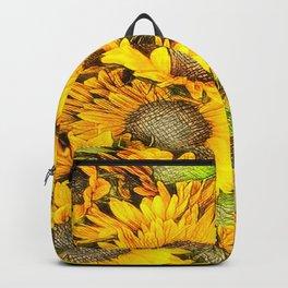 SUNFLOWERS-211218/1 Backpack