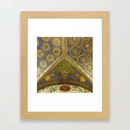 Mosaic Art - Fall of Mankind Framed Art Print