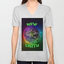 New Earth Unisex V-Neck