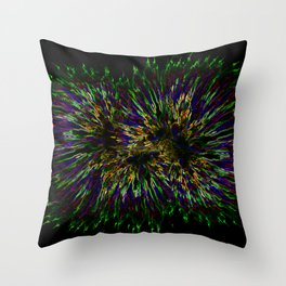 Warp Out Throw Pillow