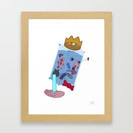 Water Man Framed Art Print