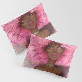 ROSE AFRO LADY Pillow Sham