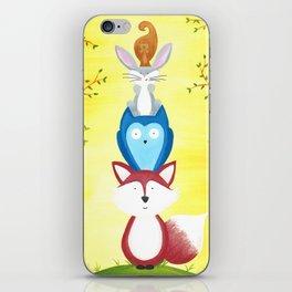 A Furry Friendship iPhone Skin