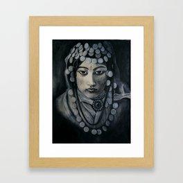 Moroccan Bride Framed Art Print