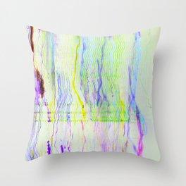 sherbet sprinkles Throw Pillow