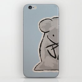 Anime Mouse Painting iPhone Skin