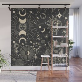 Mystic patterns Wall Mural