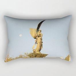 Angel of the Parc Montsouris Rectangular Pillow
