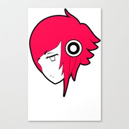 Animephones Canvas Print