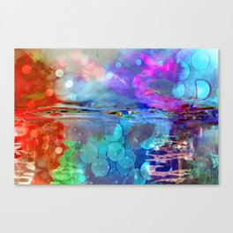 Abstract Blurs . Canvas Print
