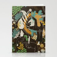 surrealism Stationery Cards featuring surrealism by Judit Varga
