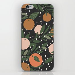 Tangerine Rain iPhone Skin