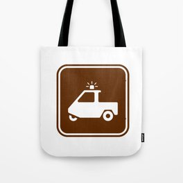 "Urban Pictograms ""DPT"" Tote Bag"
