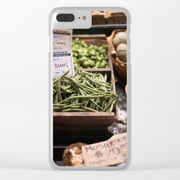Pikes Market 3 Clear iPhone Case