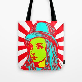 Alice Sunburst Tote Bag
